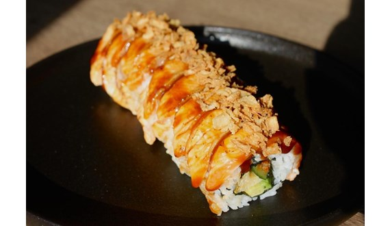 Image:Uramaki Flamed Salmon